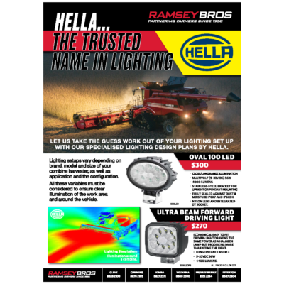 Hella – Be Harvest Ready
