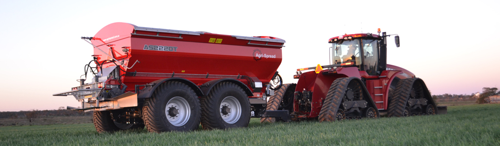 The new Agrispread 2000 series