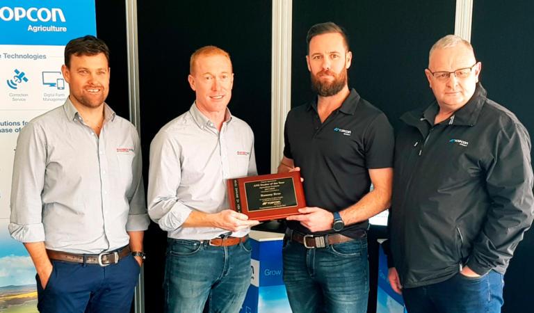 Ramsey Bros News - Topcon Award 2019