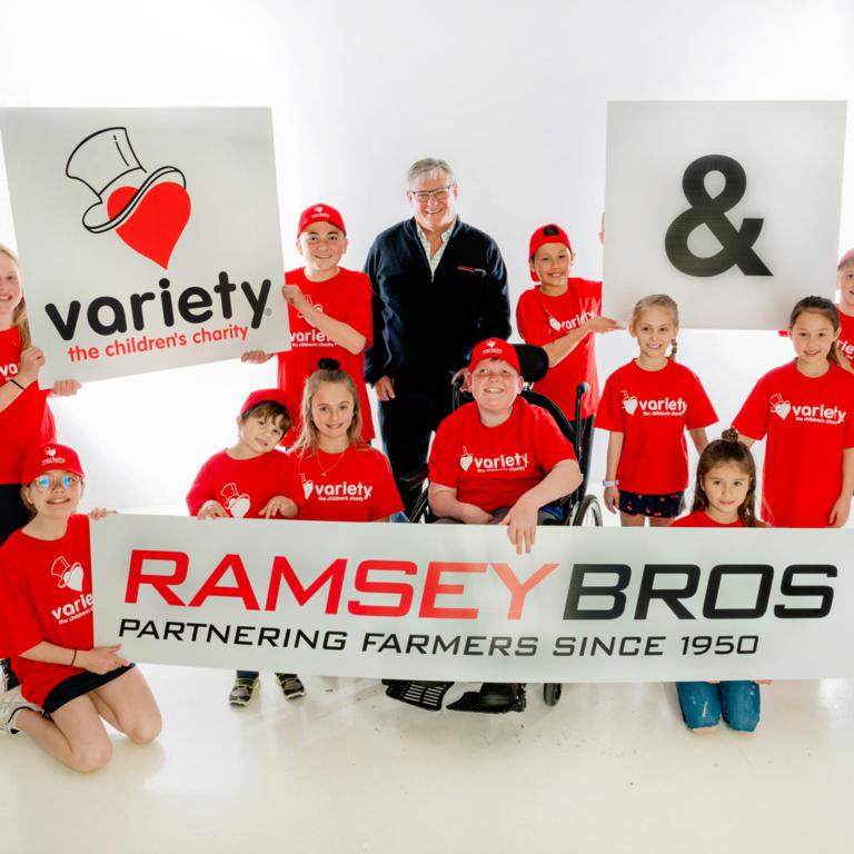Ramsey Bros News - Variety SA Gold Sponsors