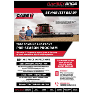 2020 Combine & Front Pre-Season Program p1 - 1024x1024