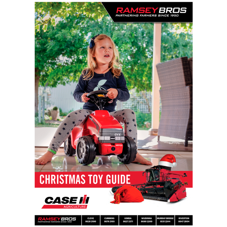 TOYS FOR CHRISTMAS – THINK CASE IH & RAMSEY BROS