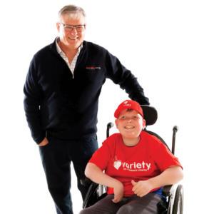 Variety SA Chair - Brenton Ramsey - SA kids
