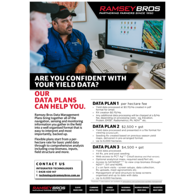 Data Plans - Precision Ag Offer - Ramsey Bros - transparent