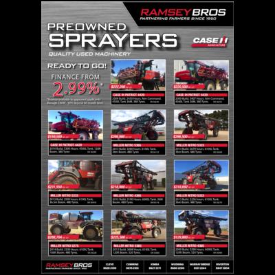 Preowned Sprayers – Ready to Go!