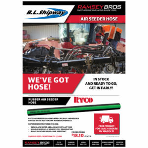 Air Seeder Hose p1 - Parts Offer - Ramsey Bros