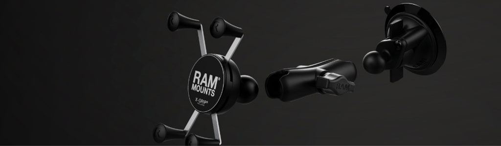 Mobile Mounting Solutions with RAM Mounts