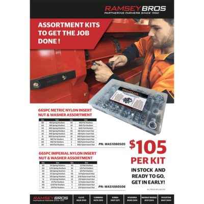Bolt, Nut and Washer Assortments