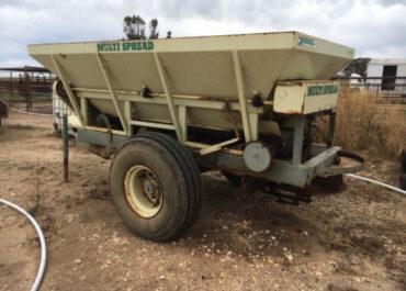 Marshall Fertilizer/Manure Spreader