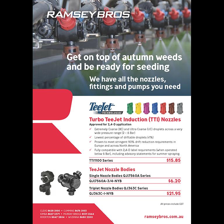 HYPRO PUMPS, BANJO fittings, Turbo TeeJet Induction (TTI) Nozzles