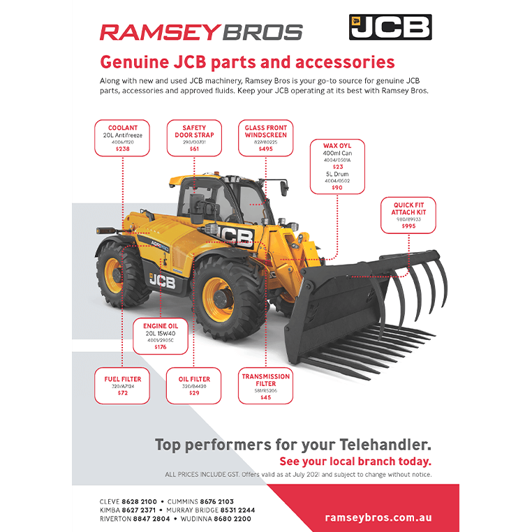 JCB Parts and Accessories